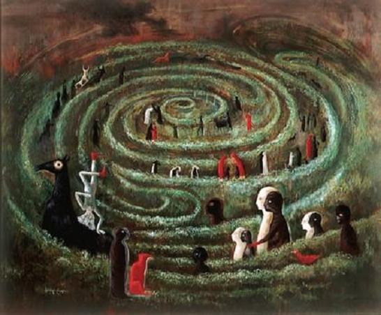 Resultado de imagen de minotauro y el laberinto